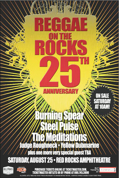 Reggae On The Rocks 2012