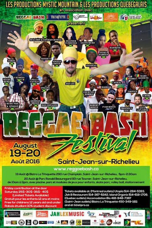 Reggae Bash Festival 2016