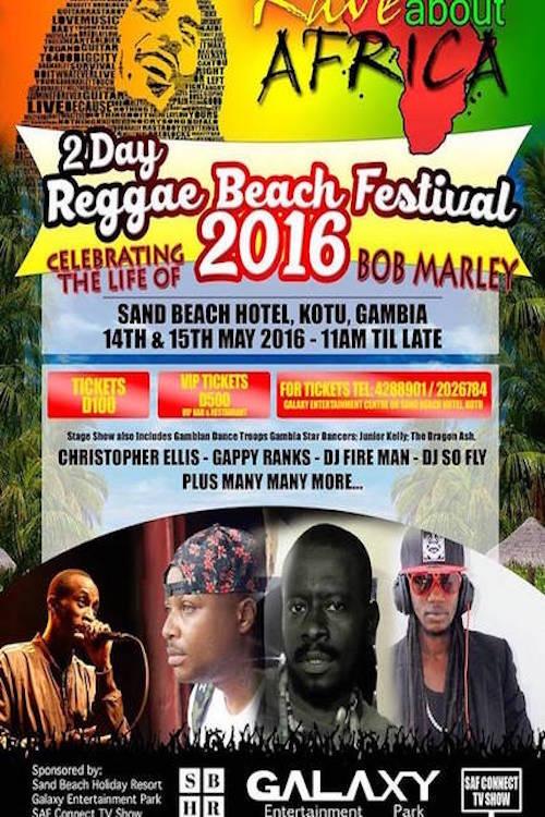 Reggae Beach Festival 2016