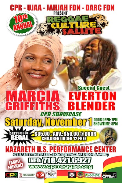 Reggae Culture Salute 2014