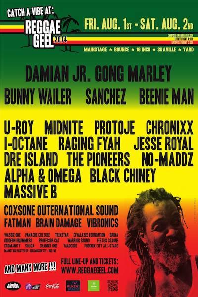 Reggae Geel 2014