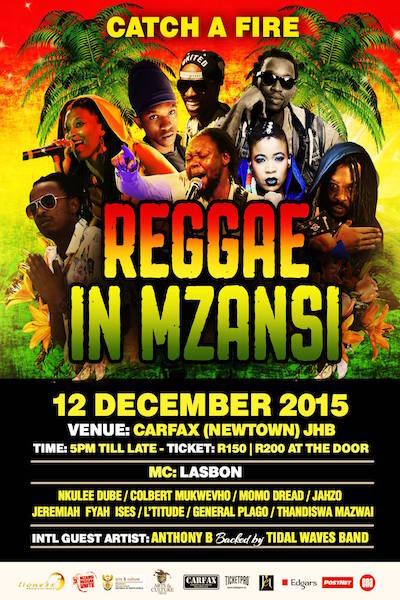Reggae in Mzansi 2015