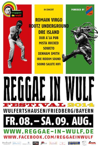 Reggae in Wulf 2014