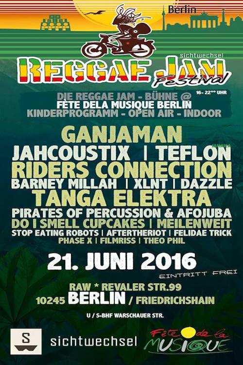 Reggae Jam - Fete De La Musique 2016