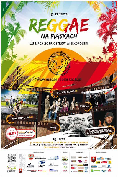 Reggae Na Piaskach 2015