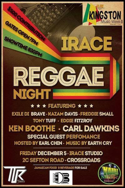 IRace Reggae Night 2014