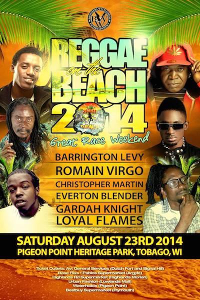Reggae On The Beach 2014