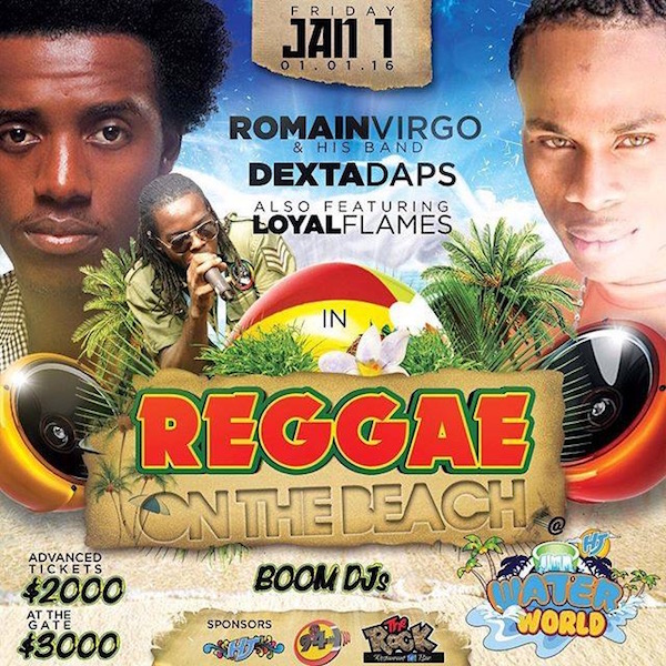 Reggae On The Beach 2016