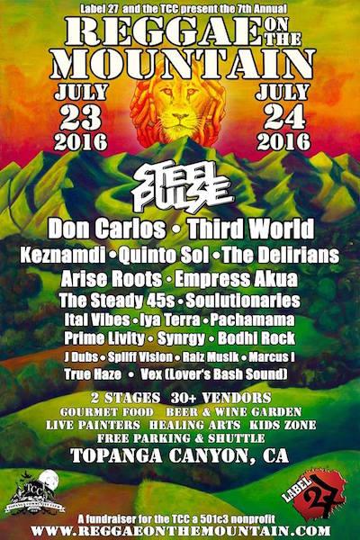 Reggae On The Mountain 2016