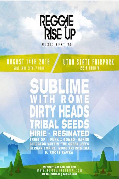 Reggae Rise Up Festival 2016