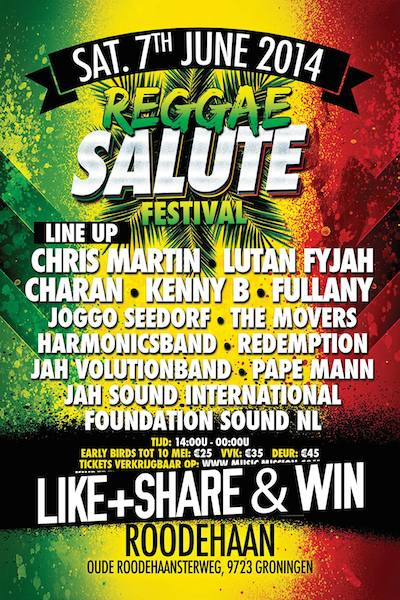 Reggae Salute Festival 2014