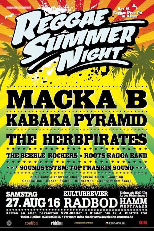 Reggae Summer Night 2016