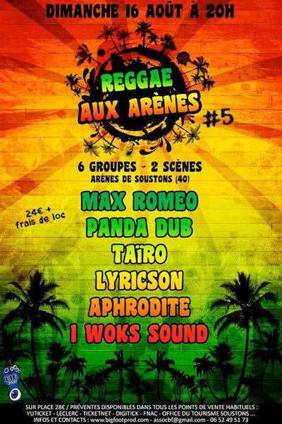 Reggae Aux Arenes 2015