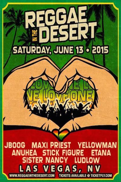 Reggae In The Desert 2015