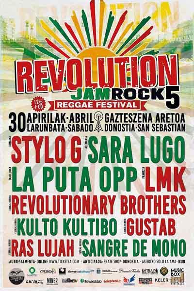 Revolution Jamrock Reggae Festival 2016