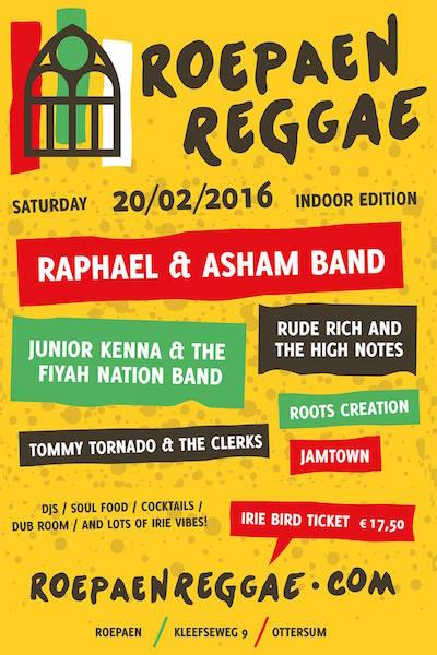 Roepaen Reggae Festival 2016