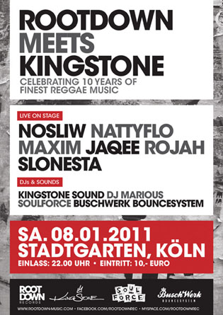 Rootdown Meets Kingstone