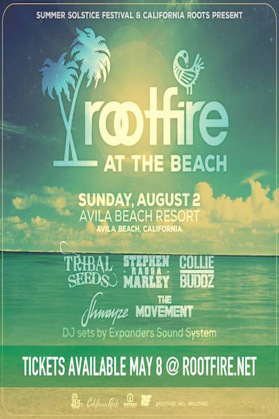 Rootfire At The Beach 2015