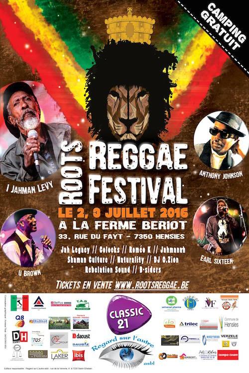 Roots Reggae Festival 2016