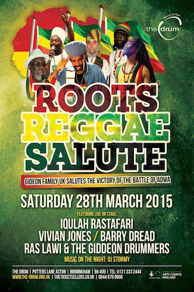 Roots Reggae Salute 2015