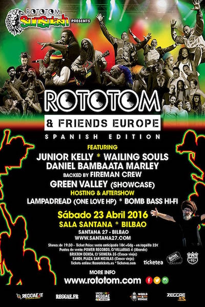 Rototom & Friends - Bilbao 2016