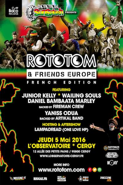 Rototom & Friends - Cergy 2016