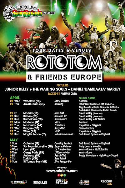 Rototom & Friends - Madrid 2016