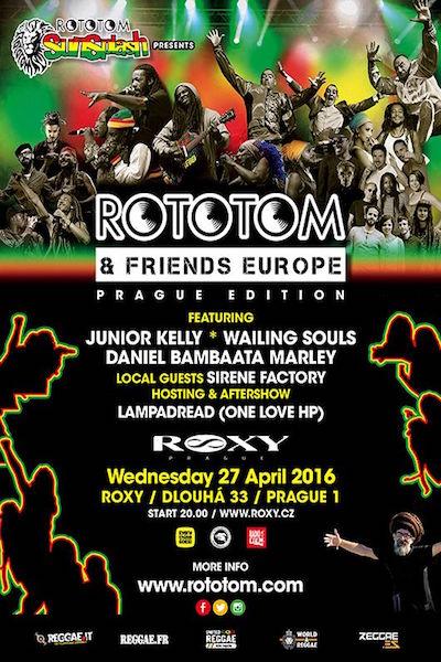 Rototom & Friends - Prague 2016