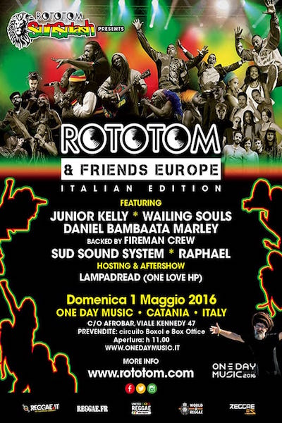Rototom & Friends - Catania 2016