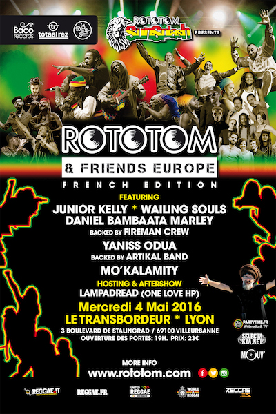 Rototom & Friends - Lyon 2016