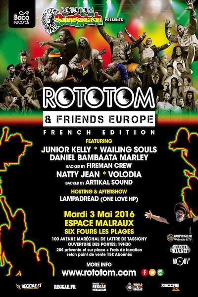 Rototom & Friends - Six-Fours-les-Plages 2016