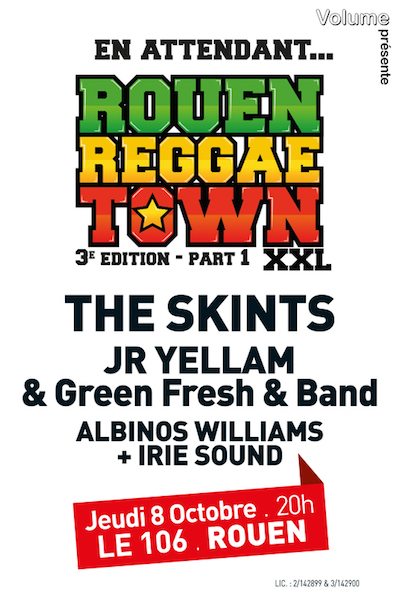 Rouen Reggae Town 2015 #1