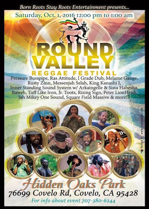 Round Valley Reggae Festival 2016