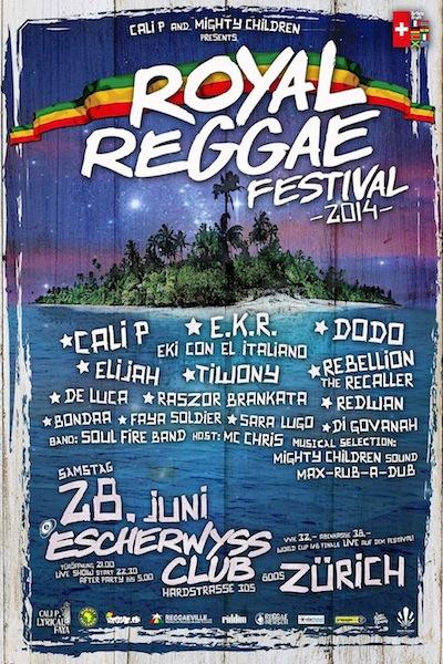 Royal Reggae Festival 2014