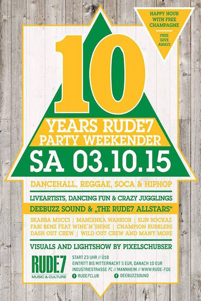 Rude7 Party Weekender 2015