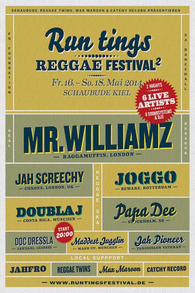 Run Tings Reggae Festival 2014
