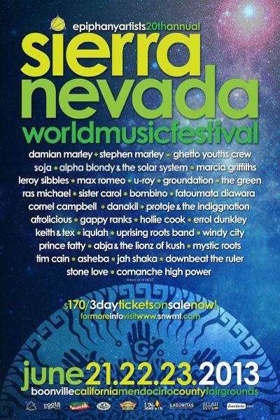 Sierra Nevada World Music Festival 2013