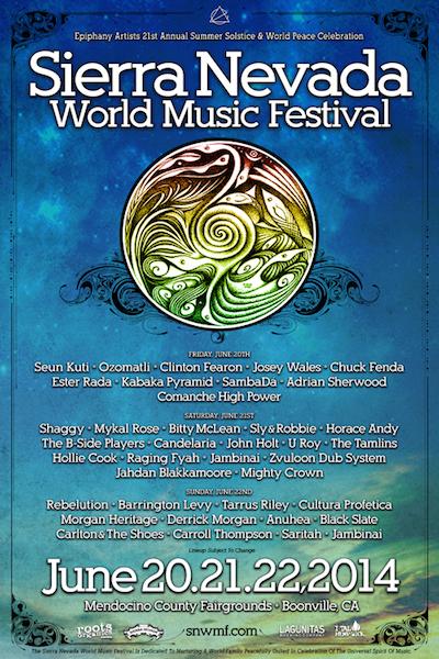 Sierra Nevada World Music Festival 2014