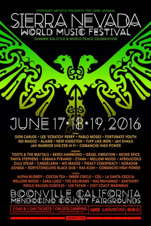 Sierra Nevada World Music Festival 2016