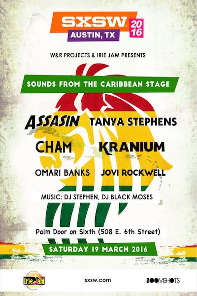 SXSW - Caribbean Stage 2016