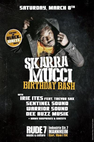 Skarra Mucci Birthday Bash 2014