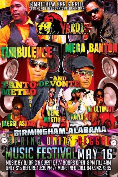 Spring Unity Reggae Music Festival 2015