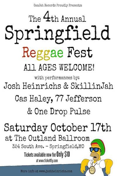 Springfield Reggae Fest 2015