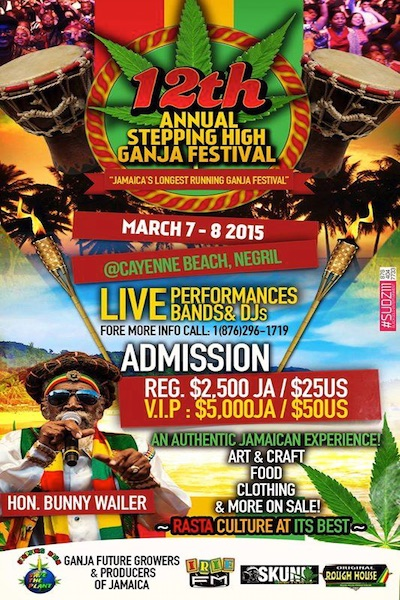 Stepping High Ganja Festival 2015