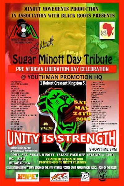 Sugar Minott Day Tribute 2014