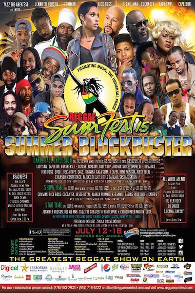 Reggae Sumfest 2015