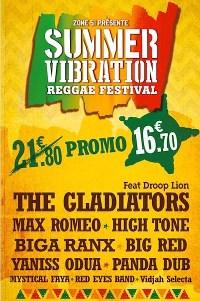 Summer Vibration Reggae Festival 2014