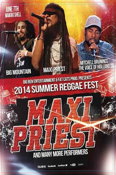Summer Reggae Fest 2014