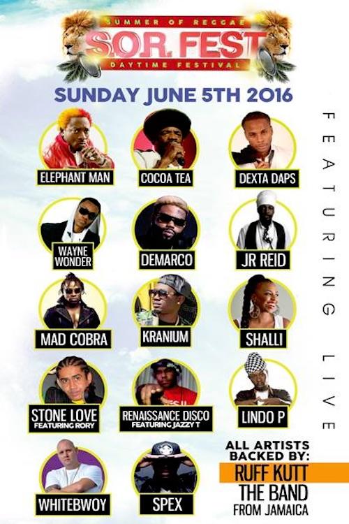 Summer Of Reggae 2016