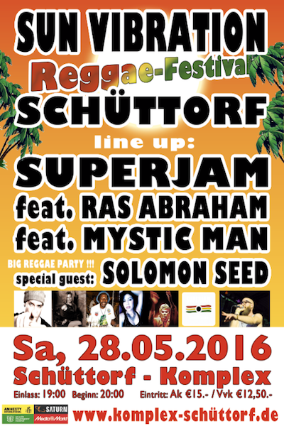 Sun Vibration Reggae Festival 2016